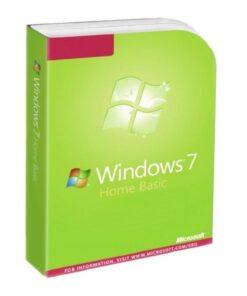 لایسنس اورجینال ویندوز 7 هوم بیسیک   Windows 7 Home Basic
