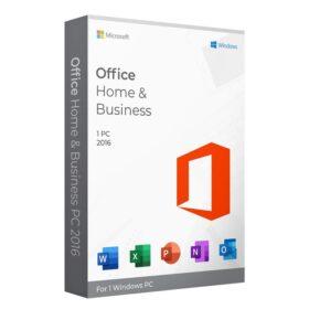 لایسنس آفیس هوم اند بیزینس 2016 ویندوز   Office Home and Business 2016 Windows