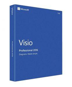 لایسنس ویزیو 2016 پروفشنال | Visio 2016 Professional