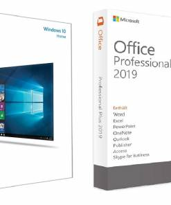 لایسنس Windows 10 Home + Office 2019 Pro Plus مایکروسافت