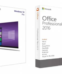 لایسنس Windows 10 Pro + Office 2016 Pro Plus مایکروسافت