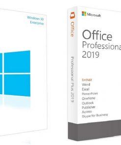لایسنس Windows 10 Enterprise + Office 2019 Pro Plus مایکروسافت